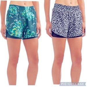 Bundle of 2 Avia running shorts